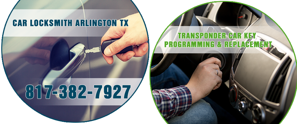 Car Locksmith Arlington TX banner